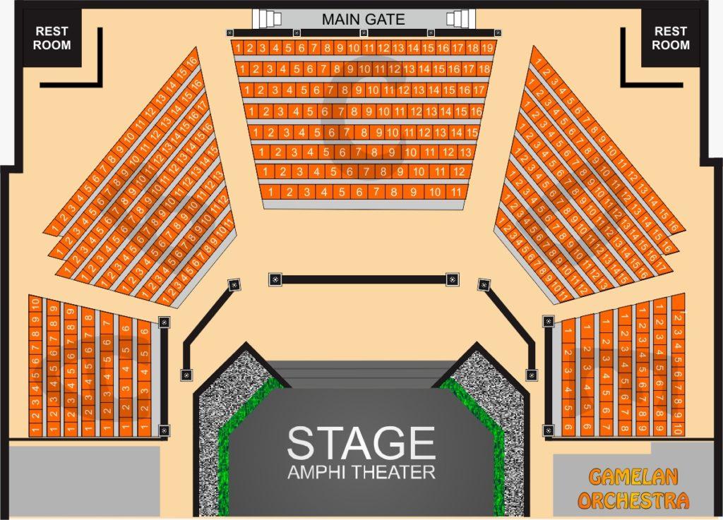 プラウィサタ劇場座席図